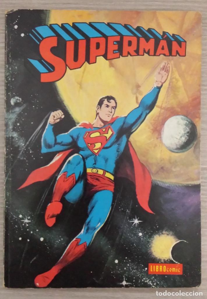 SUPERMAN LIBROCÓMIC TOMO NÚMERO 22 (XXII) RÚSTICA NOVARO (LIBRO CÓMIC) (Tebeos y Comics - Novaro - Superman)