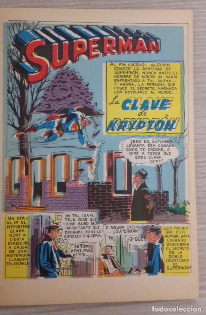 Tebeos: SUPERMAN LIBROCÓMIC TOMO NÚMERO 22 (XXII) RÚSTICA NOVARO (LIBRO CÓMIC) - Foto 4 - 63670663