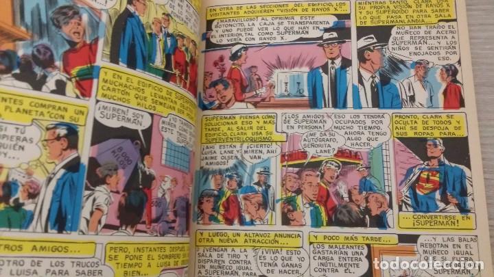 Tebeos: SUPERMAN LIBROCÓMIC TOMO NÚMERO 22 (XXII) RÚSTICA NOVARO (LIBRO CÓMIC) - Foto 7 - 63670663