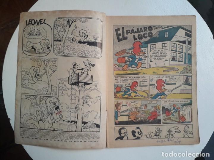 Tebeos: El pájaro loco n° 128 - original editorial Novaro - Foto 2 - 157899038