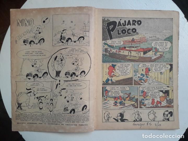 Tebeos: El pájaro loco n° 135 - original editorial Novaro - Foto 2 - 157899342