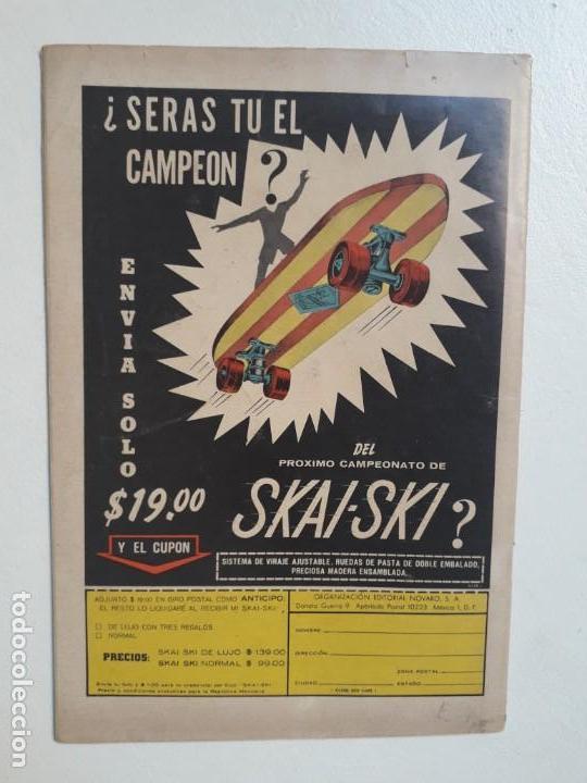 Tebeos: El conejo de la suerte n° 274 - original editorial Novaro - Foto 2 - 157900834