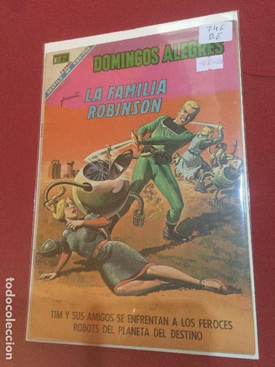 NOVARO DOMINGOS ALEGRES NUMERO 746 BUEN ESTADO (Tebeos y Comics - Novaro - Domingos Alegres)
