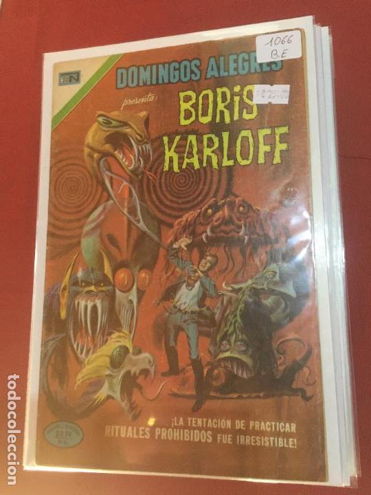 NOVARO DOMINGOS ALEGRES NUMERO 1066 BUEN ESTADO (Tebeos y Comics - Novaro - Domingos Alegres)