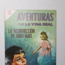 Tebeos: AVENTURAS DE LA VIDA REAL N° 128 (IMPECABLE) - ORIGINAL EDITORIAL NOVARO. Lote 158009734