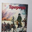 Tebeos: EPOPEYA N° 20 - LA RETIRADA DE MOSCÚ - ORIGINAL EDITORIAL NOVARO. Lote 158220522