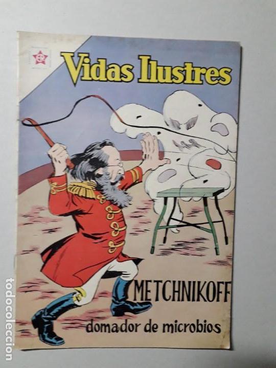 VIDAS ILUSTRES N° 94 - METCHNIKOFF, DOMADOR DE MICROBIOS - ORIGINAL EDITORIAL NOVARO (Tebeos y Comics - Novaro - Vidas ilustres)