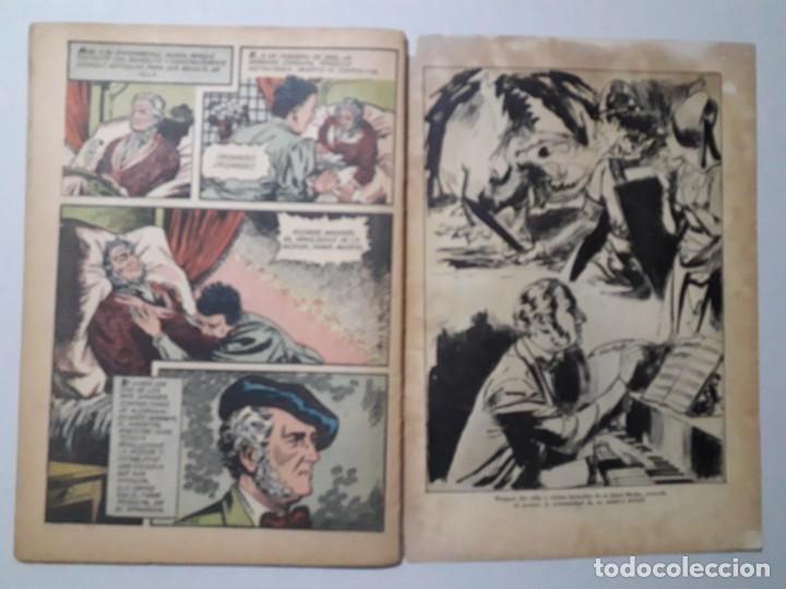 Tebeos: Vidas Ilustres n° 7 - Ricardo Wagner - original editorial Novaro - Foto 3 - 158221954