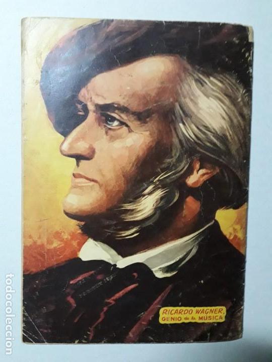 Tebeos: Vidas Ilustres n° 7 - Ricardo Wagner - original editorial Novaro - Foto 4 - 158221954