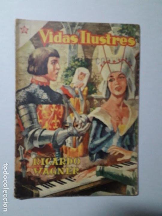 VIDAS ILUSTRES N° 7 - RICARDO WAGNER - ORIGINAL EDITORIAL NOVARO (Tebeos y Comics - Novaro - Vidas ilustres)