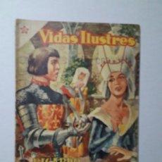 Tebeos: VIDAS ILUSTRES N° 7 - RICARDO WAGNER - ORIGINAL EDITORIAL NOVARO. Lote 158221954