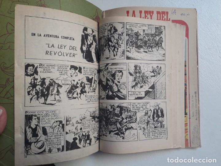 Tebeos: Libro comic La ley del revólver n° 39 - colección Librigar Milco - no Novaro - Foto 2 - 158786010