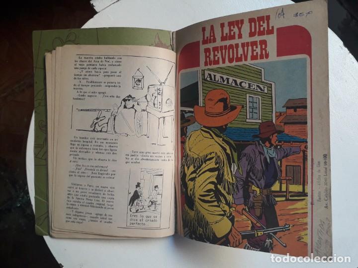 Tebeos: Libro comic La ley del revólver n° 39 - colección Librigar Milco - no Novaro - Foto 3 - 158786010