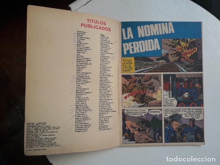 Tebeos: Libro comic La ley del revólver n° 39 - colección Librigar Milco - no Novaro - Foto 4 - 158786010