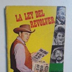 Tebeos: LIBRO COMIC LA LEY DEL REVÓLVER N° 39 - COLECCIÓN LIBRIGAR MILCO - NO NOVARO. Lote 158786010