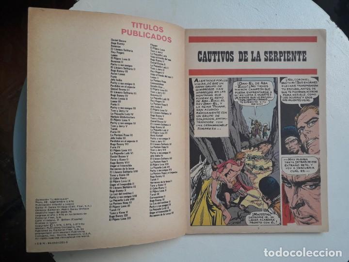 Tebeos: Libro comic n° 48 - Colección Librigar Mico - no Novaro - Foto 3 - 158786430