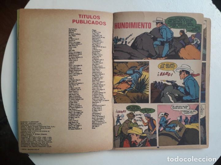 Tebeos: Libro comic n° 54 - El llanero solitario - colección Librigar Mico - no Novaro - Foto 2 - 158787010