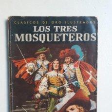 Tebeos: CLÁSICOS DE ORO ILUSTRADO - LOS TRES MOSQUETEROS - ORIGINAL EDITORIAL NOVARO. Lote 158791022
