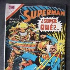 Tebeos: SUPERMAN Nº 852 EDITORIAL NOVARO. Lote 159193314