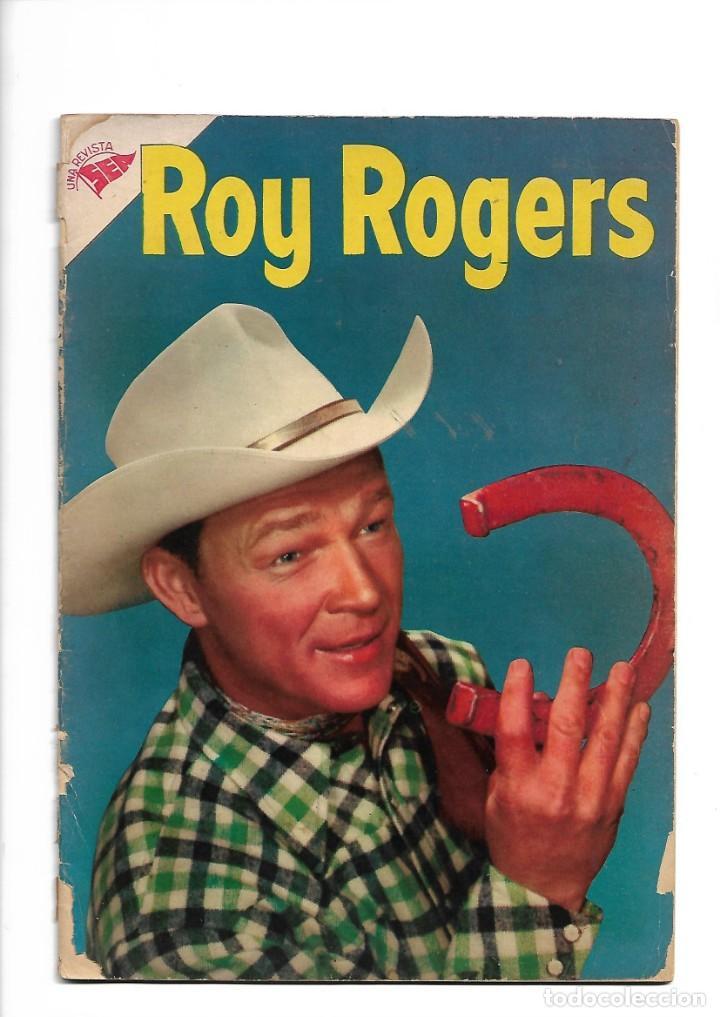 ROY ROGERS, Nº 33. AÑO 1955. UNA REVISTA SEA. ES MUY DIFICIL DE CONSEGUIR. (Tebeos y Comics - Novaro - Roy Roger)