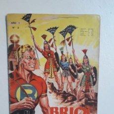 Tebeos: BRICK BRADFORD N° 2 - ORIGINAL EDITORIAL COCHRANE CHILE - NO NOVARO. Lote 159342218