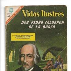 Tebeos: VIDAS ILUSTRES, DON PEDRO CALDERÓN DE LA BARCA, Nº 149, AÑO 1966. EDITORIAL NOVARO.. Lote 159478686