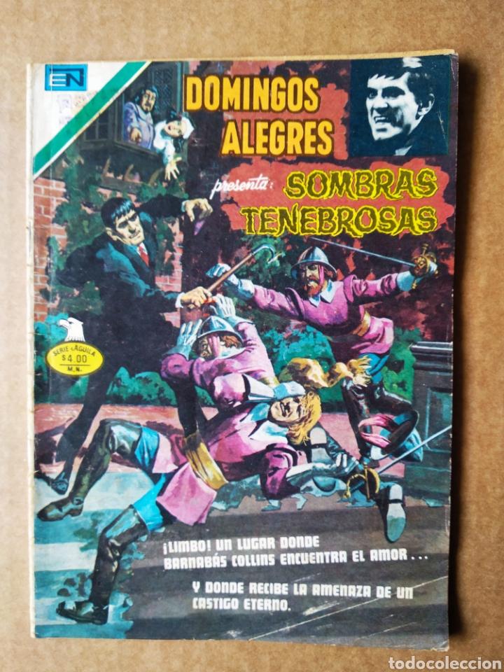 DOMINGOS ALEGRES PRESENTA: SOMBRAS TENEBROSAS N°2-1312 (EDITORIAL NOVARO, 1979). SERIE ÁGUILA. (Tebeos y Comics - Novaro - Domingos Alegres)