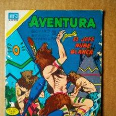 Tebeos: AVENTURA PRESENTA EL JEFE NUBE BLANCA N°2-911 (EDITORIAL NOVARO, 1979). SERIE ÁGUILA.. Lote 159747192