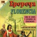 Tebeos: NOVARO - EPOPEYA Nº 127 - 1 DE DICIEMBRE DE 1968 - FLORENCIA. Lote 159755738