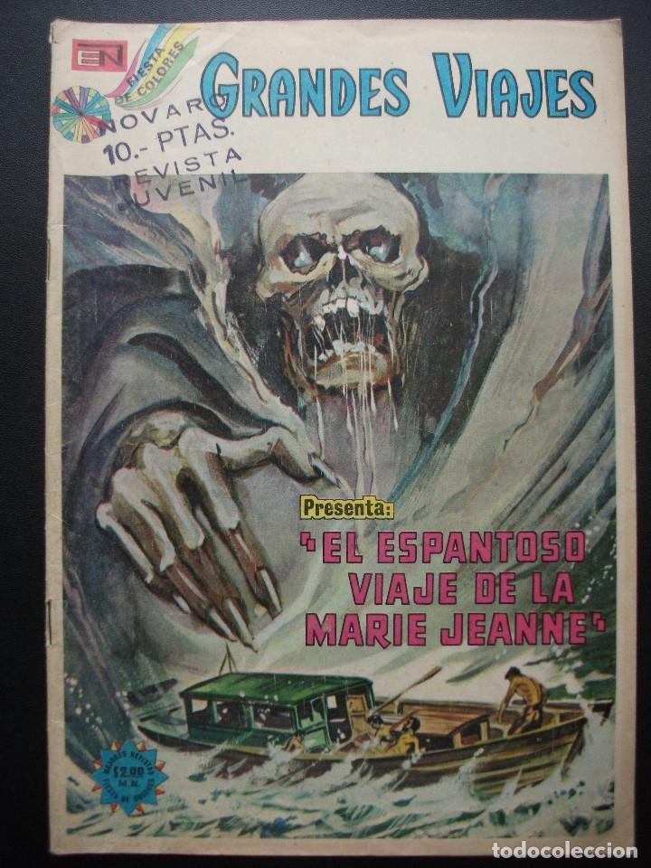 GRANDES VIAJES Nº 148, EL ESPANTOSO VIAJE DE LA MARIE JEANNE, NOVARO (Tebeos y Comics - Novaro - Grandes Viajes)