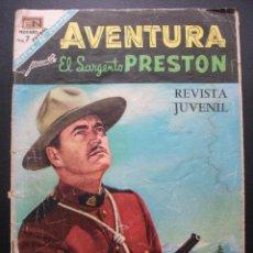 Tebeos: AVENTURA Nº 535, EL SARGENTO PRESTON, NOVARO. Lote 159869702