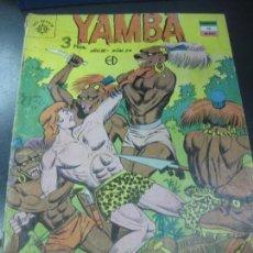 Tebeos: YAMBA Nº 24. 3 DE JULIO DE 1962. EDITORA SOL MEXICO.. Lote 159978094