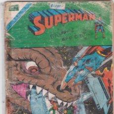 Tebeos: SUPERMAN NOVARO SERIE AGUILA LOTE DE 3 NÚMEROS. VER DESCRIPCIÓN Y FOTOS.. Lote 160150062