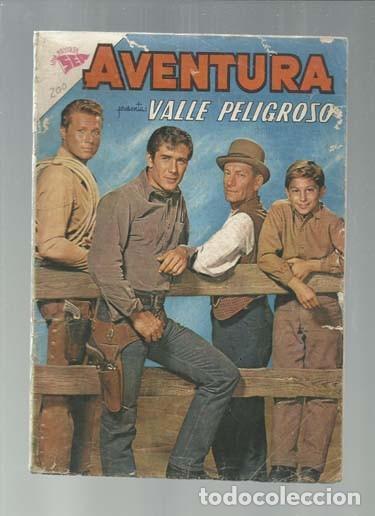 AVENTURA 200: VALLE PELIGROSO, 1961, NOVARO. COLECCIÓN A.T. (Tebeos y Comics - Novaro - Aventura)