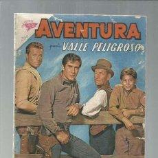 Tebeos: AVENTURA 200: VALLE PELIGROSO, 1961, NOVARO. COLECCIÓN A.T.. Lote 160411642