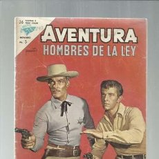 Tebeos: AVENTURA 293: HOMBRES DE LA LEY, 1963, NOVARO, COLECCIÓN A.T.. Lote 160453650