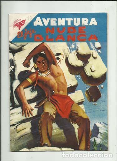 AVENTURA 78: EL JEFE NUBE BLANCA, 1958, NOVARO, COLECCIÓN A.T. (Tebeos y Comics - Novaro - Aventura)