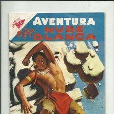 Tebeos: AVENTURA 78: EL JEFE NUBE BLANCA, 1958, NOVARO, COLECCIÓN A.T.. Lote 160455230