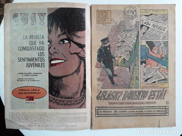 Tebeos: Batman n° 604 (Flash) - original editorial Novaro - Foto 2 - 160458858