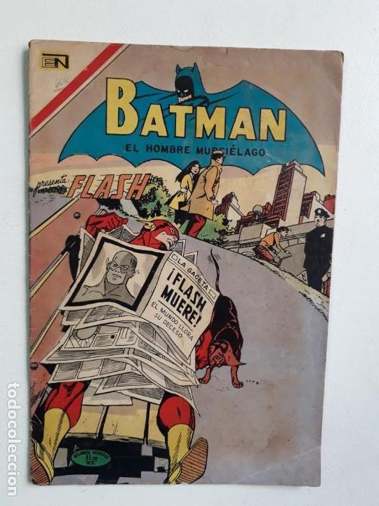 BATMAN N° 604 (FLASH) - ORIGINAL EDITORIAL NOVARO (Tebeos y Comics - Novaro - Batman)
