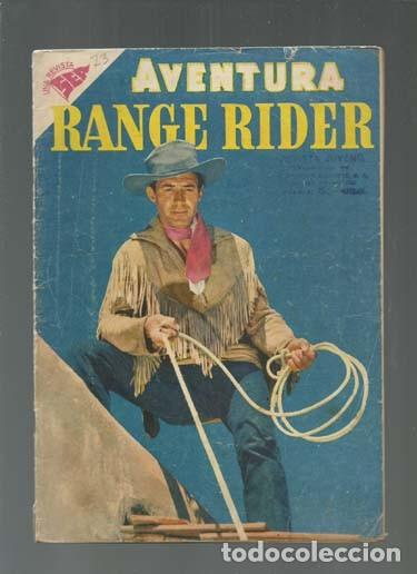 AVENTURA 73: RANGE RIDER, 1957, NOVARO. COLECCIÓN A.T. (Tebeos y Comics - Novaro - Aventura)