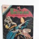 Tebeos: BATMAN N° 585 - ORIGINAL EDITORIAL NOVARO. Lote 160459242