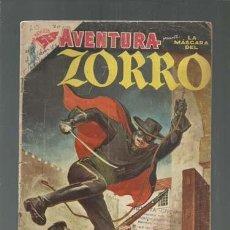 Tebeos: AVENTURA 70: LA MÁSCARA DEL ZORRO, 1957, NOVARO. COLECCIÓN A.T.. Lote 160459290