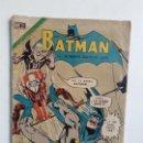 Tebeos: BATMAN N° 582 - ORIGINAL EDITORIAL NOVARO. Lote 160459566