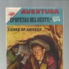 Tebeos: AVENTURA 53: EPOPEYAS DEL OESTE, 1957, NOVARO, MUY BUEN ESTADO.. Lote 187152087