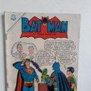 Tebeos: BATMAN N° 318 (CON SUPERMÁN) - ORIGINAL EDITORIAL NOVARO. Lote 160463054