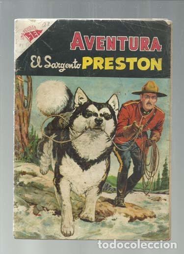 AVENTURA 23: EL SARGENTO PRESTON, 1955, NOVARO. COLECCIÓN A.T. (Tebeos y Comics - Novaro - Aventura)