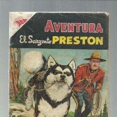 Tebeos: AVENTURA 23: EL SARGENTO PRESTON, 1955, NOVARO. COLECCIÓN A.T.. Lote 160463486