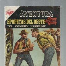 Tebeos: AVENTURA 16: EPOPEYAS DEL OESTE, 1955, NOVARO, BUEN ESTADO. COLECCIÓN A.T.. Lote 160463834
