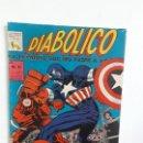 Tebeos: DIABÓLICO N° 43 (EL HOMBRE QUE NO TEME A NADA) - ORIGINAL EDITORIAL LA PRENSA (MÉXICO). Lote 160472574